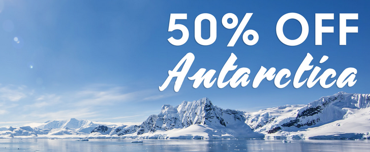 Antarctica Flash Sale! 50% Off select departures at IntrepidTravel.com