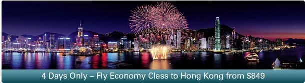Cathay Pacific: 4 days only - Fly from USA to Hong Kong from $849