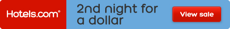 Buy one night, get the 2nd night for a dollar at Hotels.com!