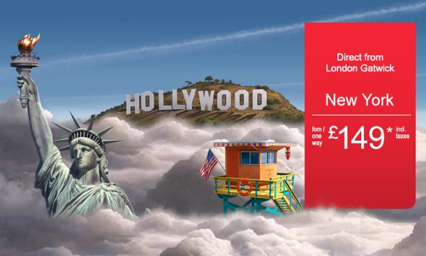 Visit USA next summer: London to New York from only £149* one way