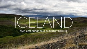 Iceland in time lapse