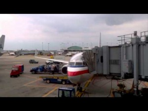 O'Hare to NYC time lapse flight