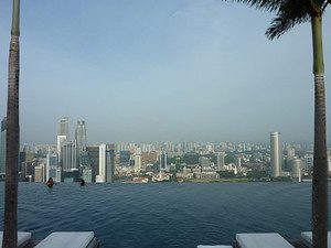 Marina Bay Sands Infinity Pool [Singapore]