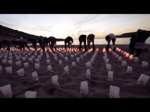 Air Malta stop-motion candle ad