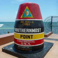 Southernmost Point of Continental USA – Key West [USA]