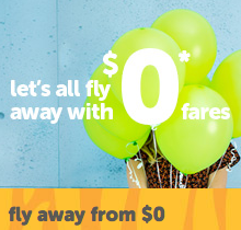 tigerair – over 1 million seats from $0* + tax