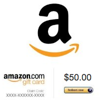 Win a $50 Amazon voucher