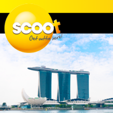 Win a trip to Singapore for you and 11 friends with Scoot [Australian Residents]