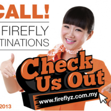 Fly to any Firefly domestic Malaysia destinations from RM35 one way