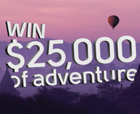 Win a $25,000 adventure from Intrepid Travel