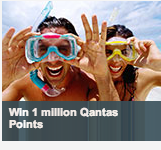 Australian residents: your chance to win one Million Qantas Points