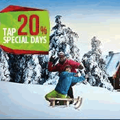 TAP Portugal – 20% off flights with discount code