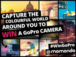 momondo Instagram competition: Win a GoPro camera