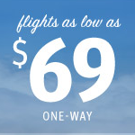 Southwest Airlines: Sale fares from $69 one-way