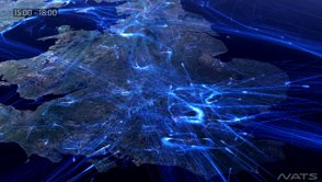 Featured Travel Video: Europe 24 – Data visualization of air traffic in Europe over 24 hours