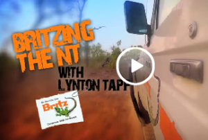 Britzing the NT with Lynton Tapp – Campervan travel in Australia's Northern Territory