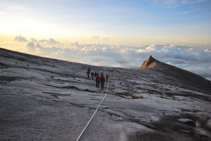 Mt Kinabalu – Climbers who have hiked the mountain