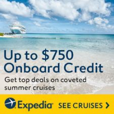 Book a cruise and get up to $750 onboard credit