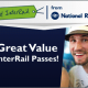 5% off all Interrail passes for a limited time