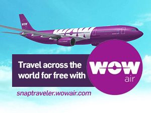 Travel across the world for free with WOW Air