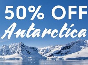 Antarctica Flash Sale! 50% Off select departures