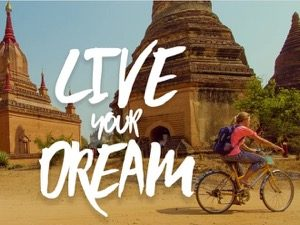 Live your Dream – a stop motion of Asia